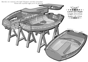 Coot Dinghy Construction
