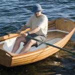 A roomy dinghy
