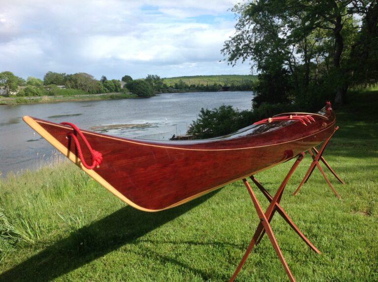 Strip Planked Wood Sea Kayak by Nick Schade